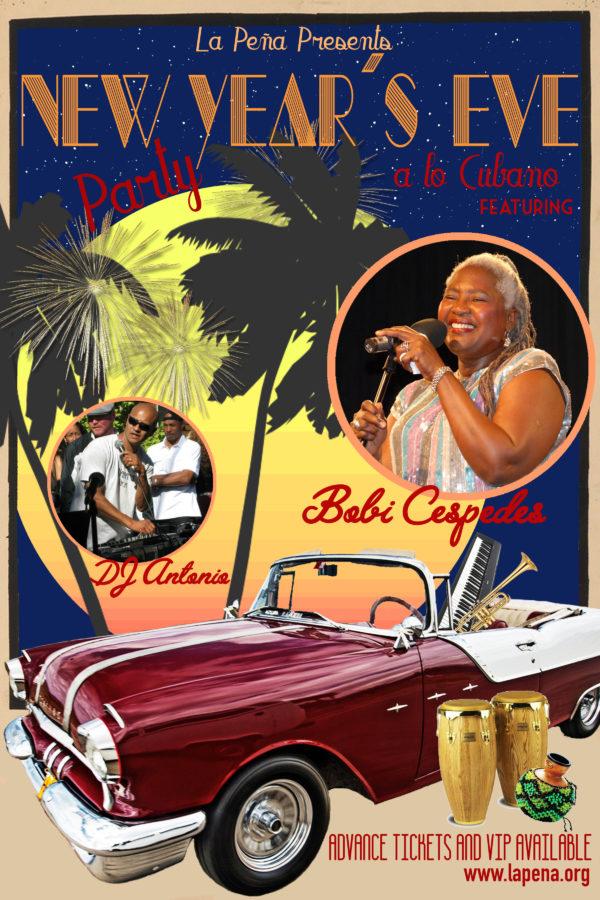 New Year 39 S Eve Party With Bobi Cespedes Dj Antonio La Pe A Cultural Center