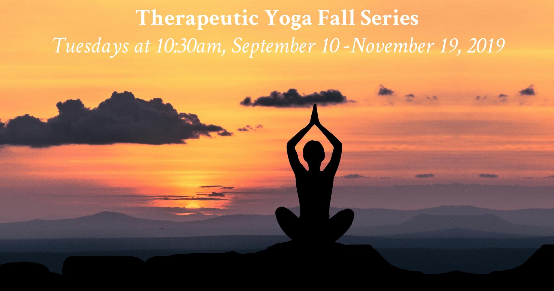Therapeutic Yoga At La Pena Fall Series La Pena Cultural Center